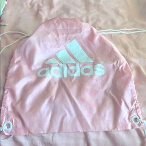 Adidas nylon drawstring bag
